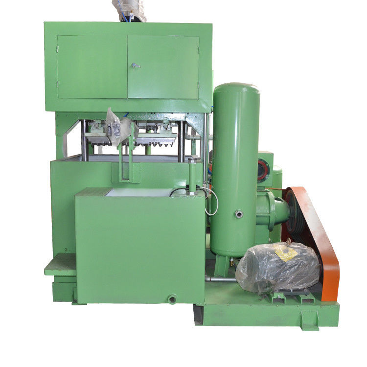 Waste Paper Semi Automatic Egg Tray Machine Compact Structure Easy Operate